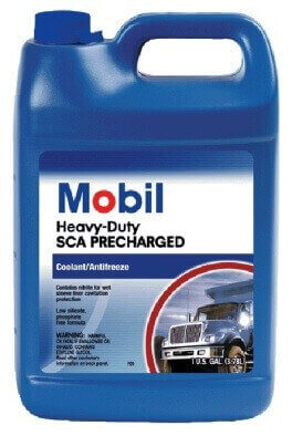 фото mobil antifreeze heavy duty